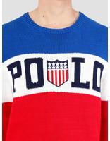 Polo Ralph Lauren Polo Ralph Lauren Cotton Logo Cn Blue Mu 710745751001