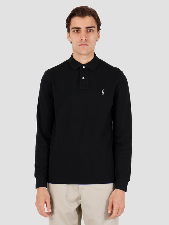 Polo Ralph Lauren Longsleeve Polo Black 710680790002