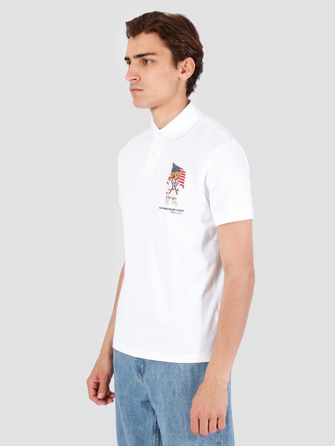 Polo Ralph Lauren Polo Ralph Lauren Basic Mesh Shortsleeve White 710755846001