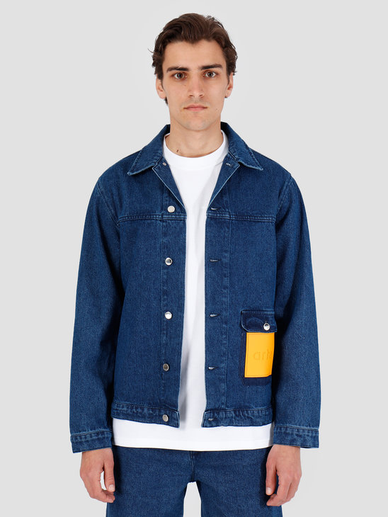 Arte Antwerp Jul Denim Blue Jacket 3757862