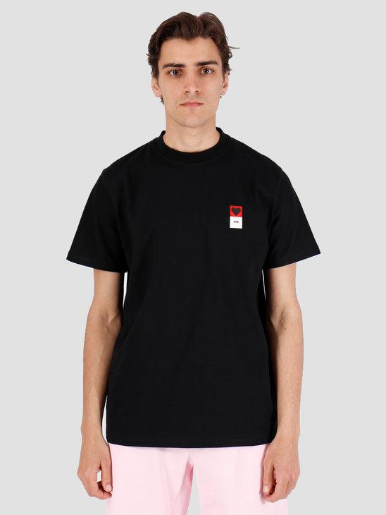Arte Antwerp Troy Heart Patch Black T-Shirt 3757092