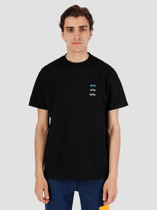 Arte Antwerp Troy Multi Logo Black T-Shirt 3757089