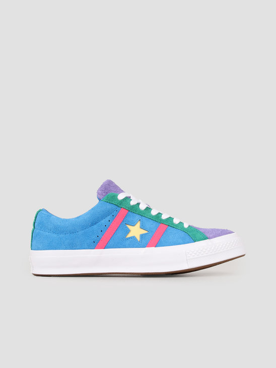 9ad058a5152 Converse One Star Academy Ox Totally Blue 164392C ...