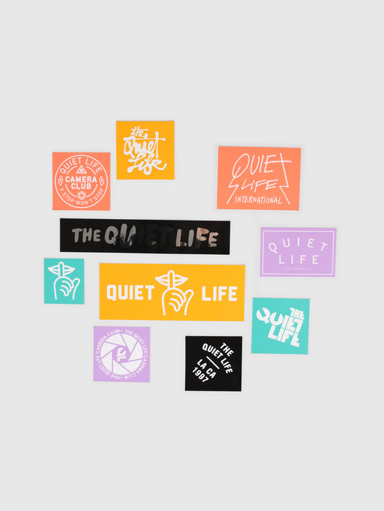 The Quiet Life Sticker Pack Assorted 19SPD1-1250-SORT-OS