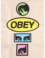 Obey Obey Tote Bag Printable Natural 100551964-NAT
