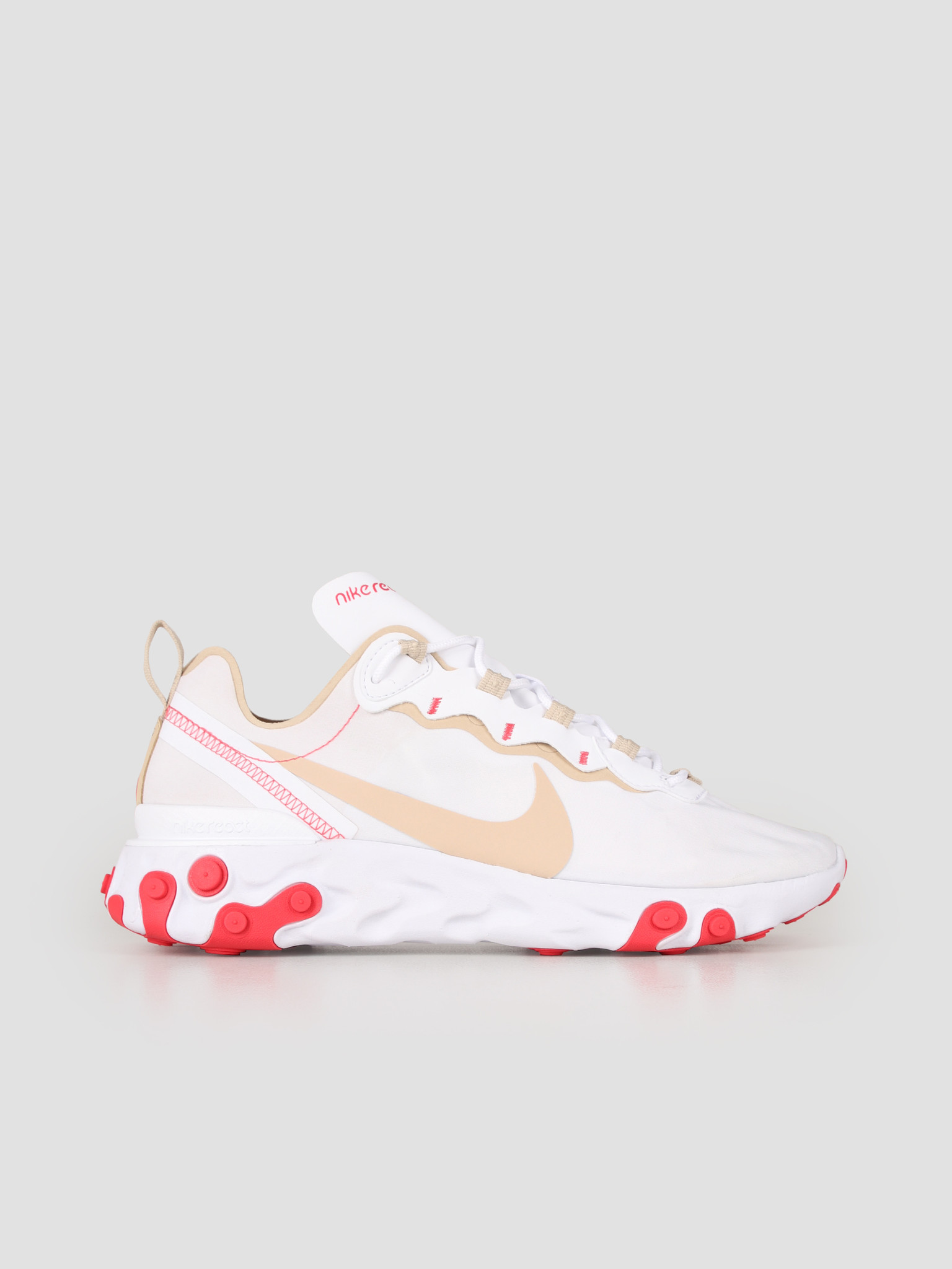 Nike React Element 55 White Desert Ore White Ember Glow BQ2728-101