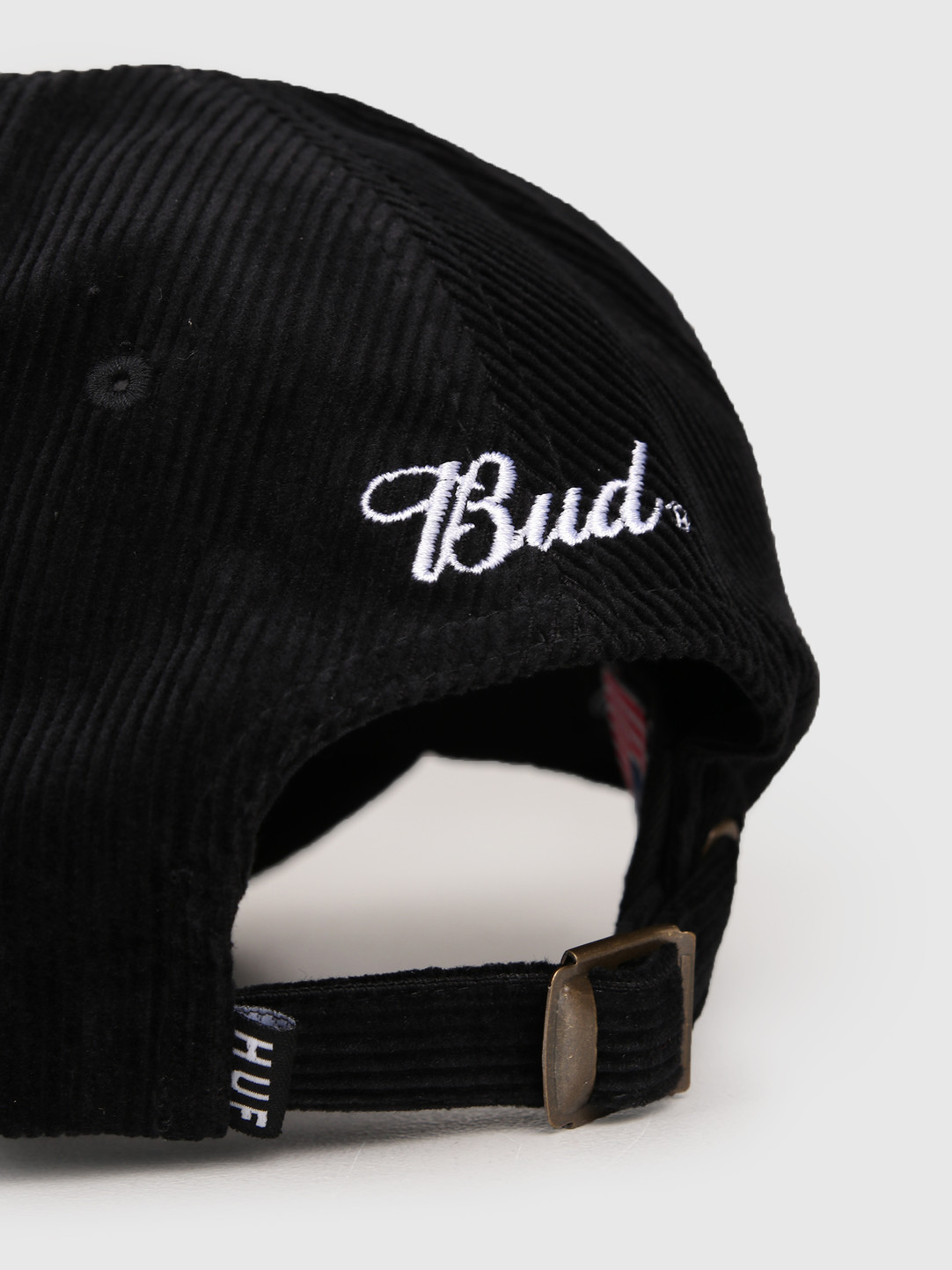 HUF HUF Bud Bow 6 Panel Hat Black HT00977