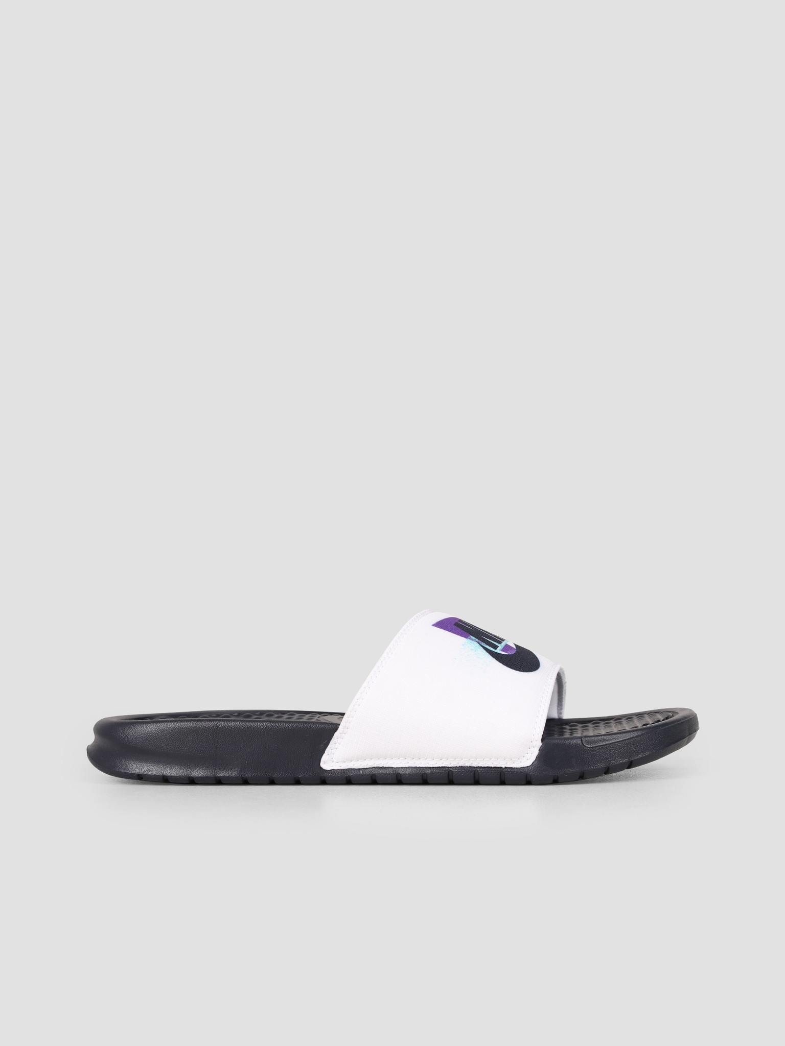 Nike Nike Benassi White Obsidian Hyper Grape Hyper Jade CJ6184-100