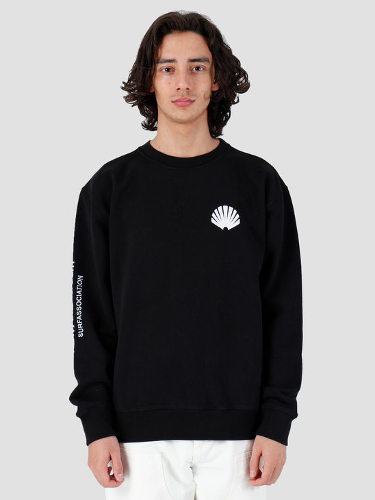 New Amsterdam Surf association Logo Sweat Black 2018005