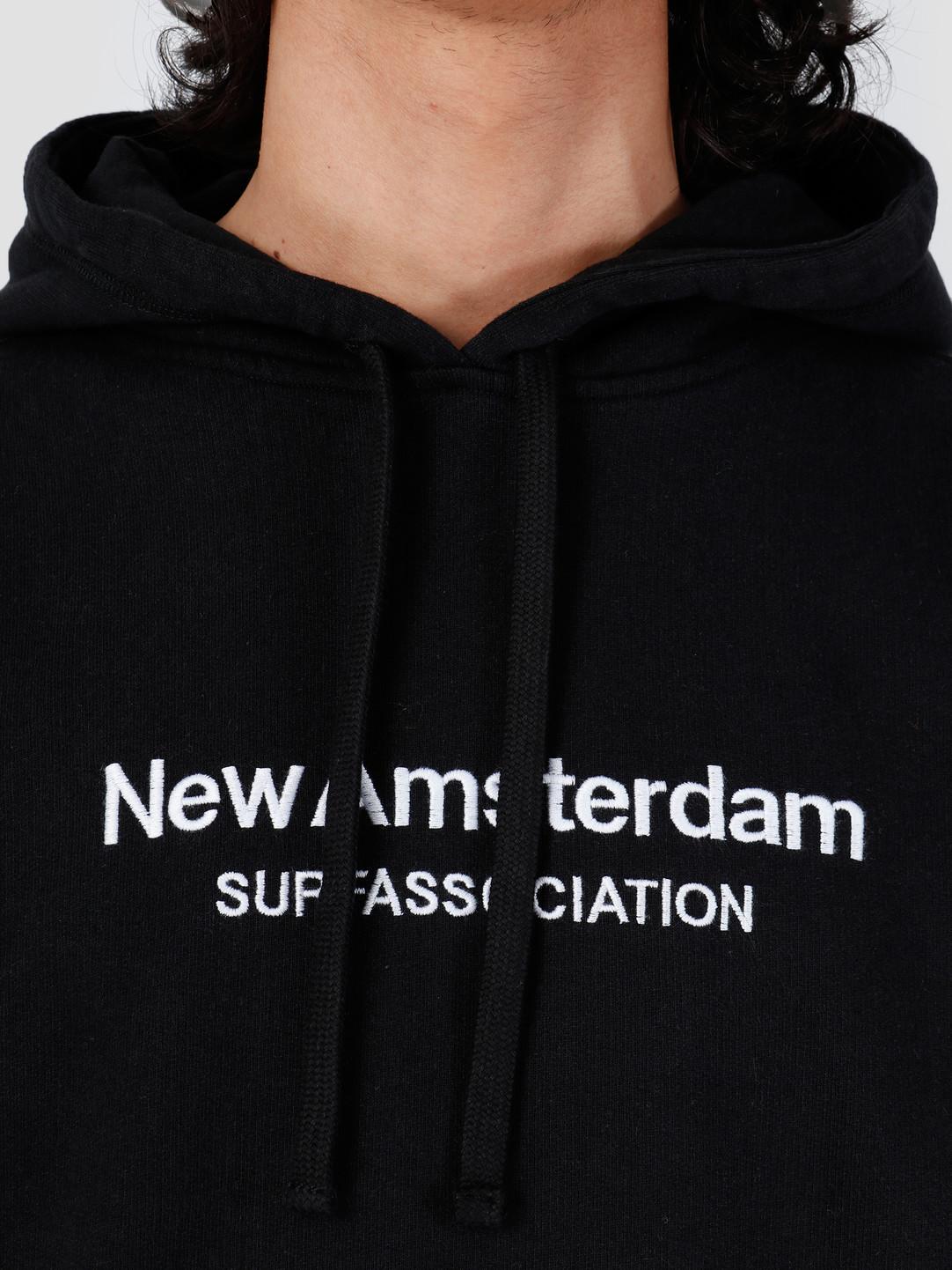 New Amsterdam Surf association New Amsterdam Surf association Logo Hoodie Black 2018008