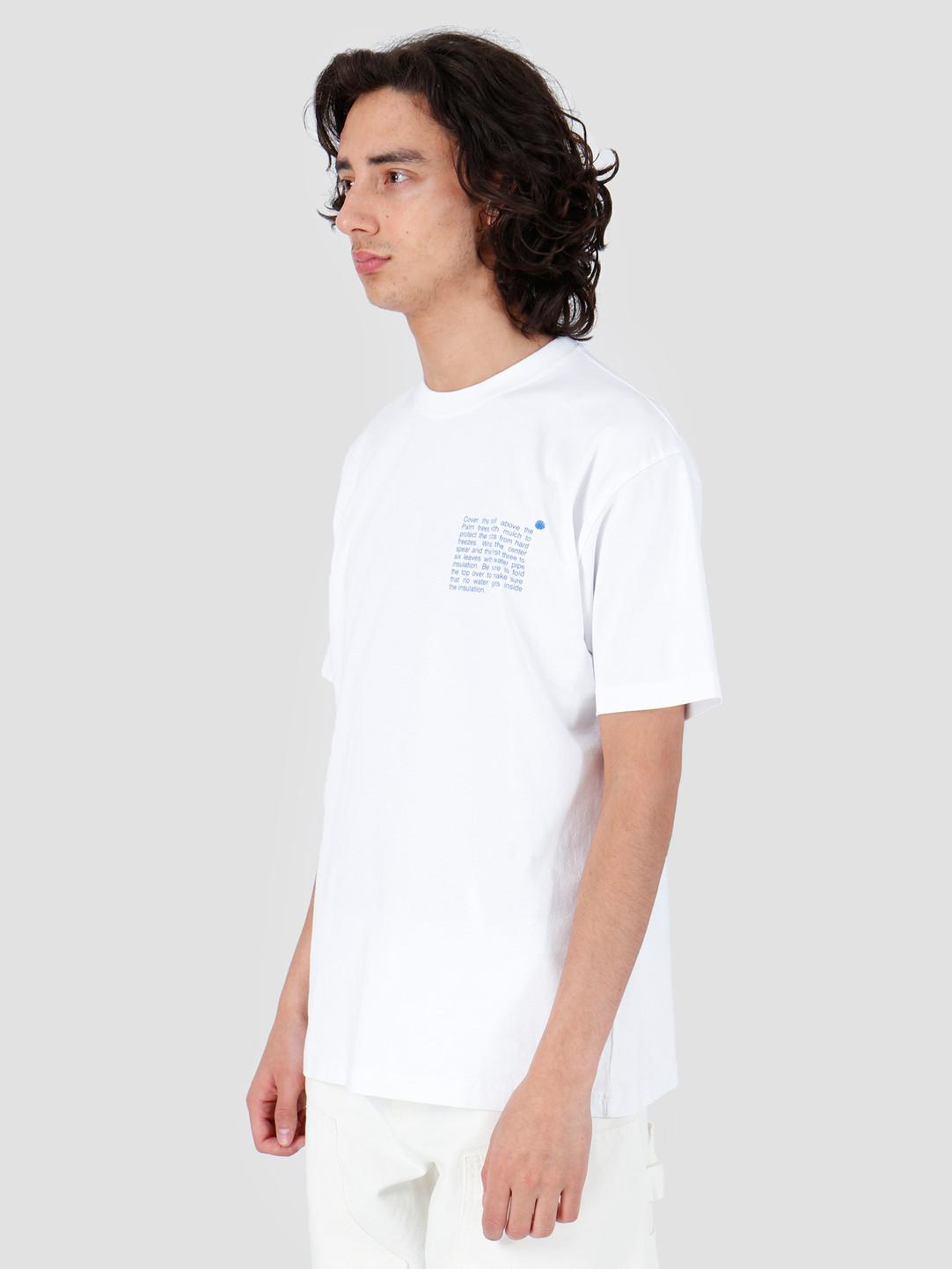 New Amsterdam Surf association New Amsterdam Surf association Cold Palm T-Shirt White 2018001