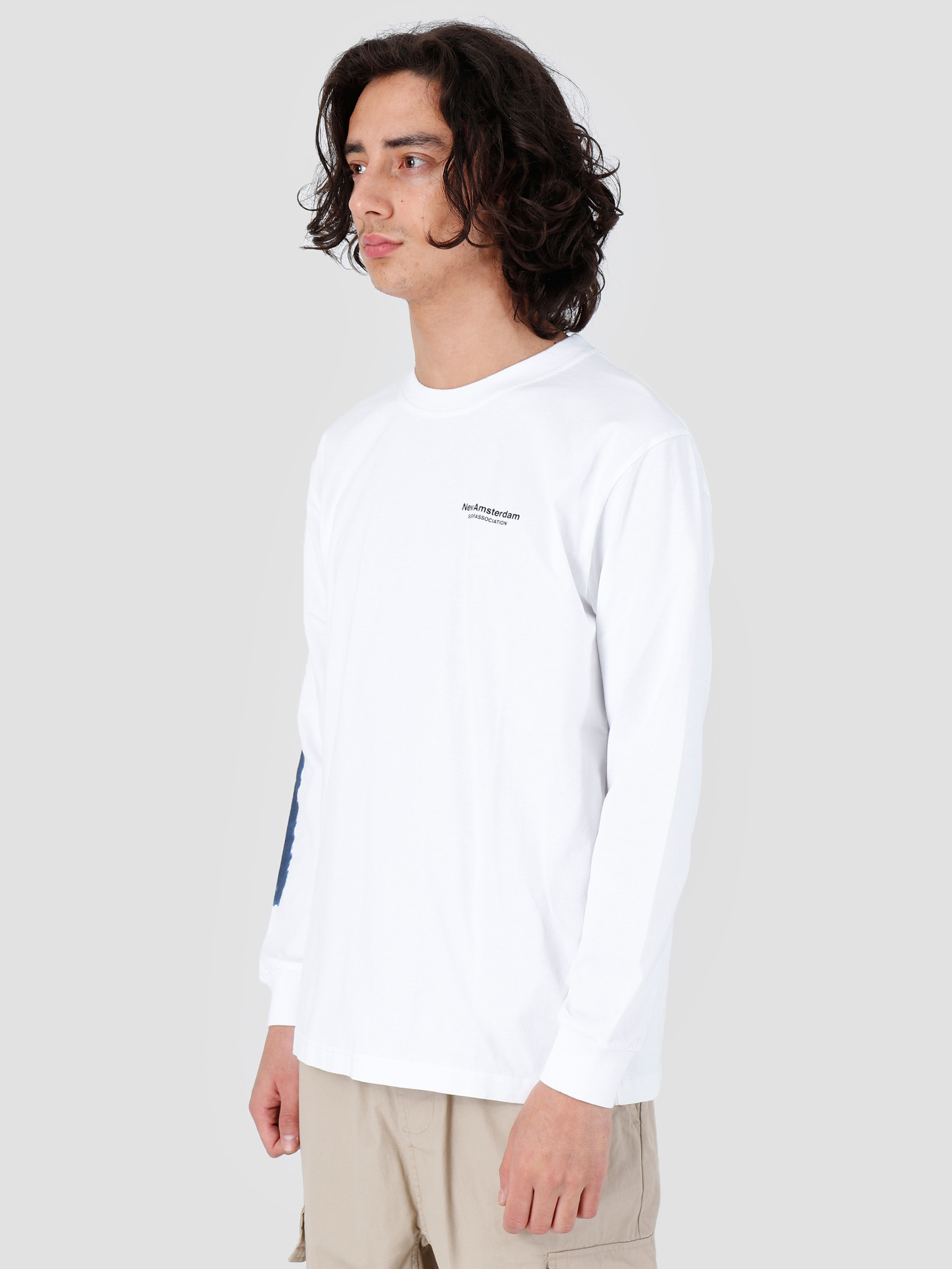 New Amsterdam Surf association New Amsterdam Surf association Aviation Longsleeve White 2018004