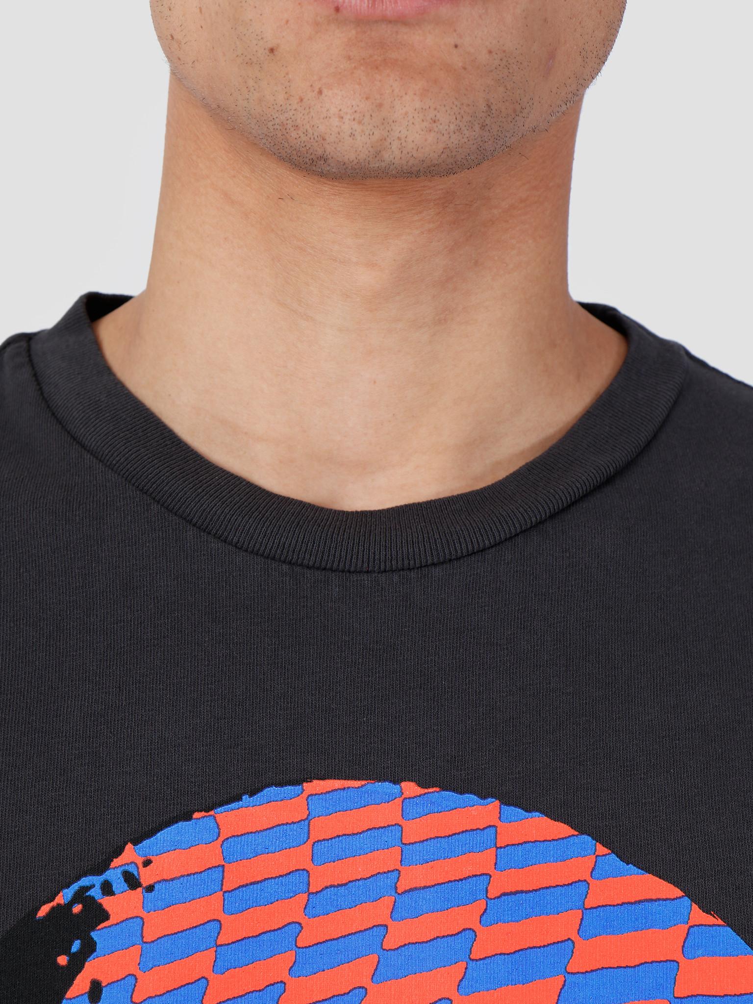 Obey Obey Basic Pigment Longsleeve Shirt Dusty Black 166731978-DBA