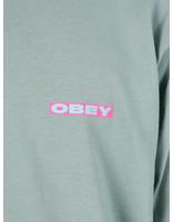 Obey Obey Basic Longsleeve Shirt Sage 164901996-SAG