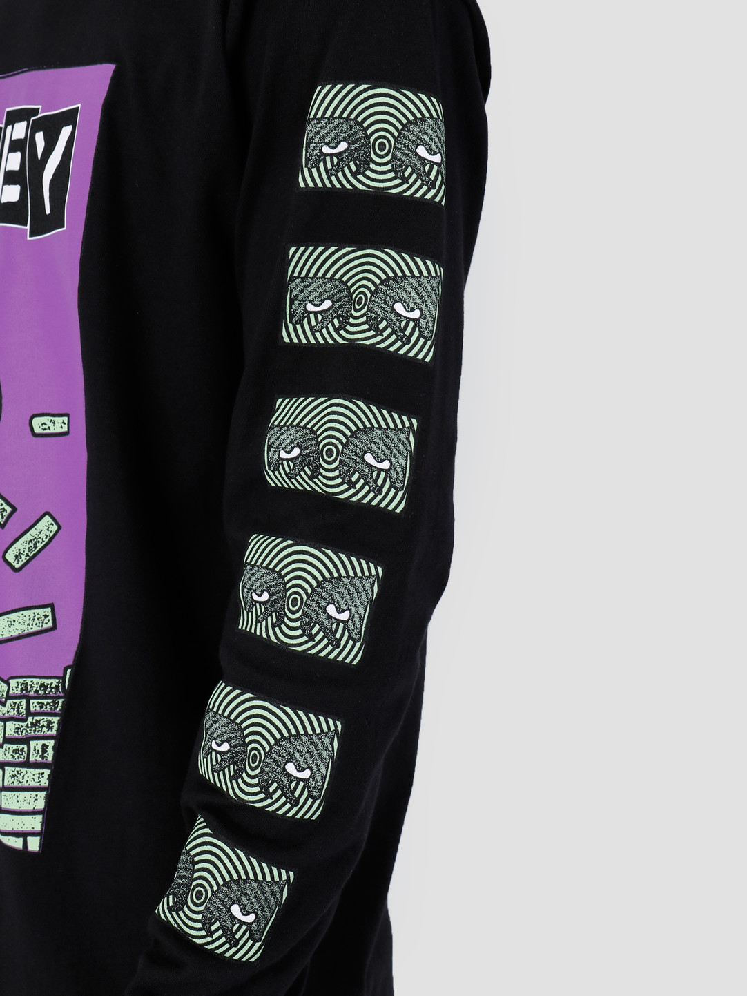 Obey Obey Bust Out Longsleeve Black 164901986-BLK