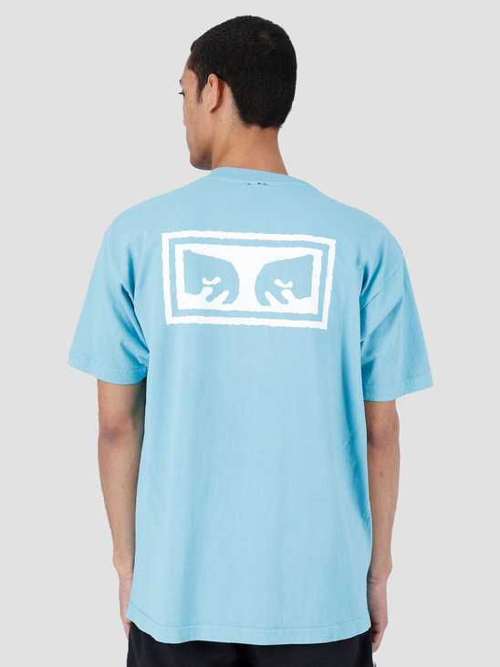 Obey Eyes 3 Heavy Weight Classic Box T-Shirt Pool 166911826-POL