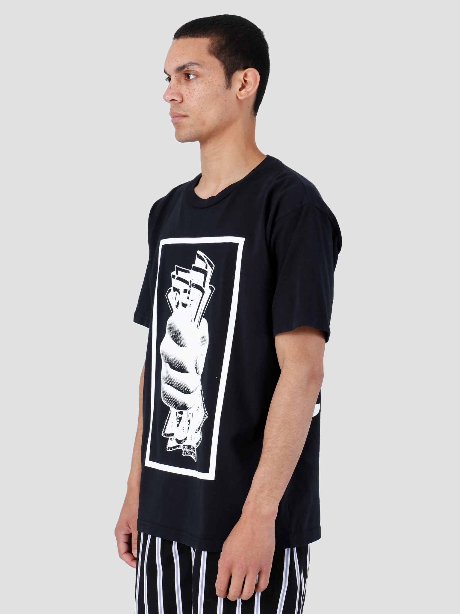 Obey Obey Heavy Weight Classic Box T-Shirt Off Black 166911973-OBK