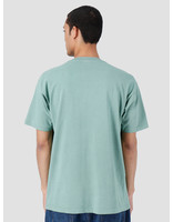 Obey Obey Worldwide Crew Heavy Weight Classic Box T-Shirt Atlantic Green 166911983-ATL