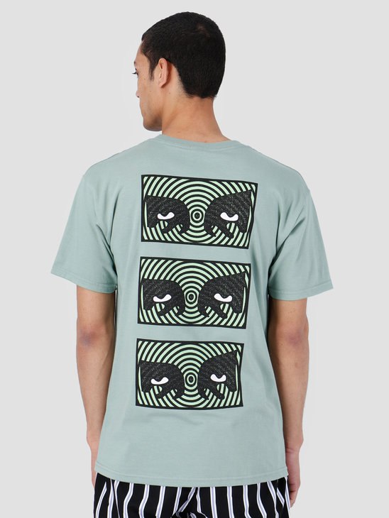 Obey Basic T-Shirt Sage 163081986-SAG