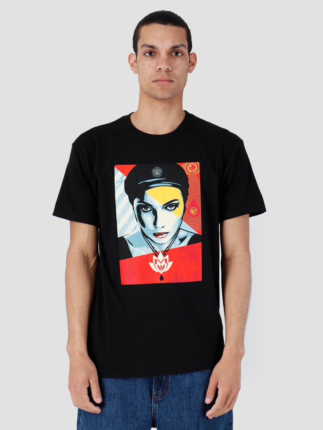 Obey Obey Oil Lotus Woman Black 163082007-BLK