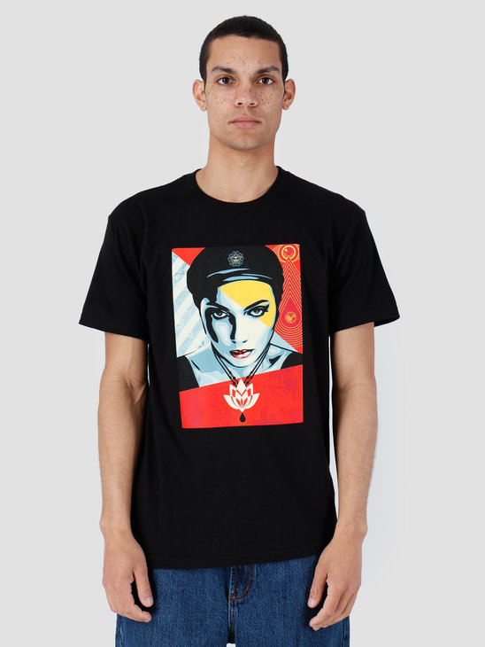 Obey Basic T-Shirt Black 163082007-BLK