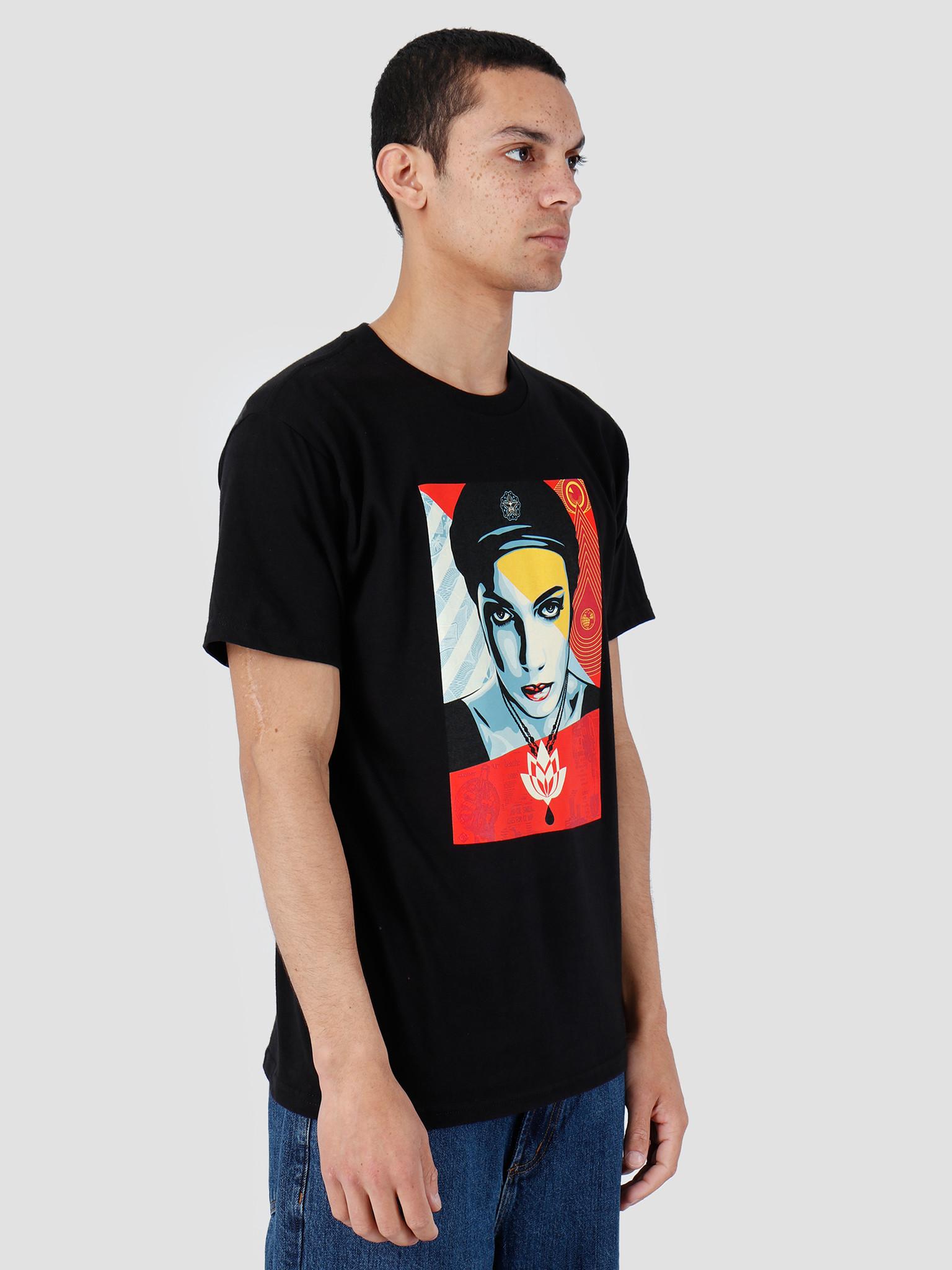 Obey Obey Basic T-Shirt Black 163082007-BLK