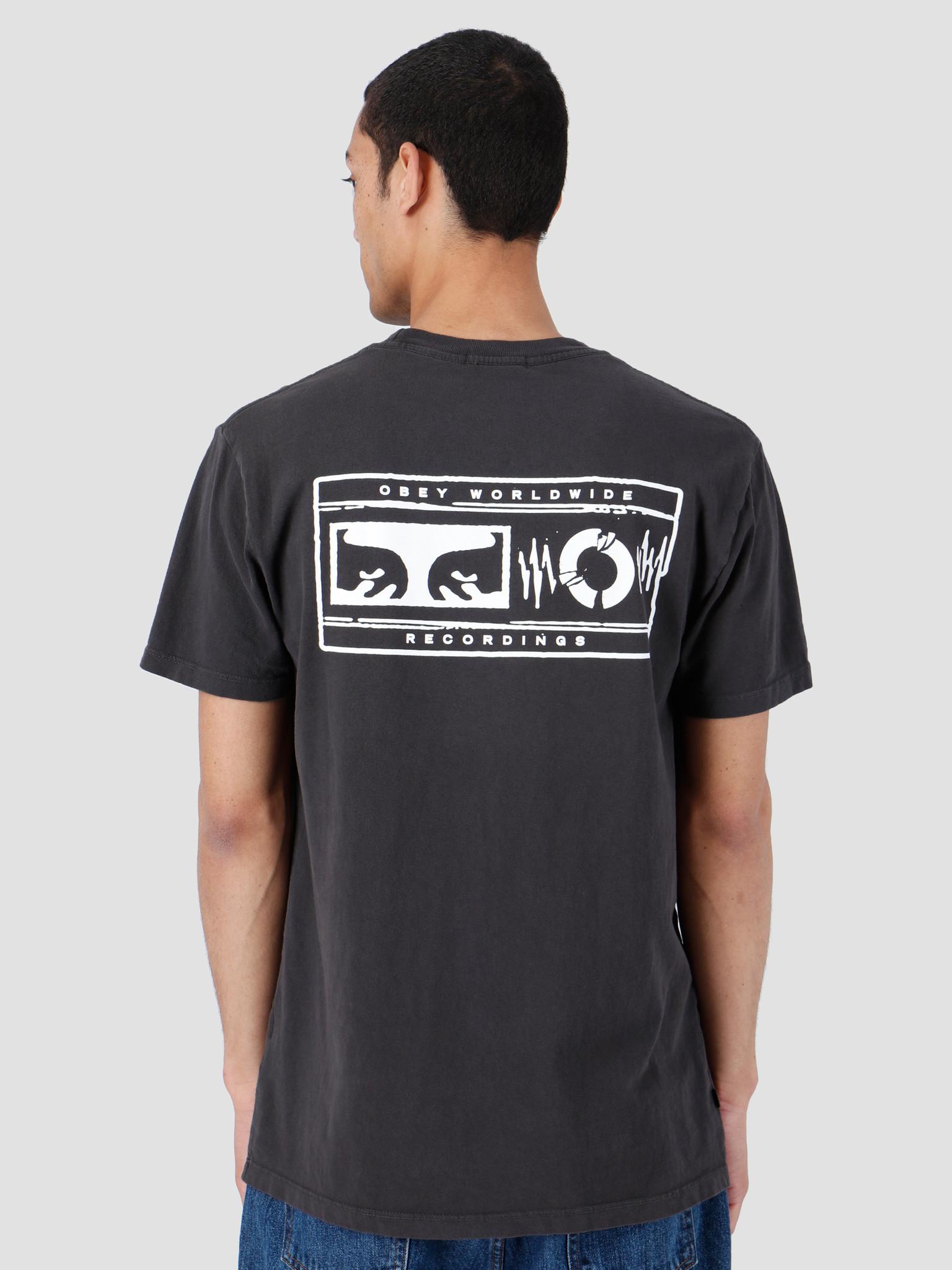 Obey Obey Basic Pigment T-Shirt Dusty Black 166721995-DBA