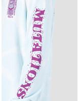 Obey Obey Basic Bleach Tie Dye Ls T-Shirt Powder Blue 166751897-PBU