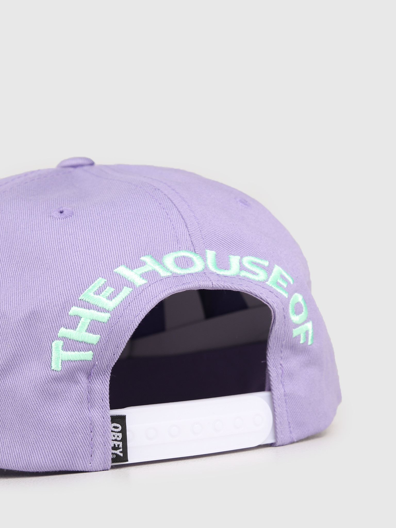 Obey Obey Low Unstructured Hat Lavender 100570096-LAV