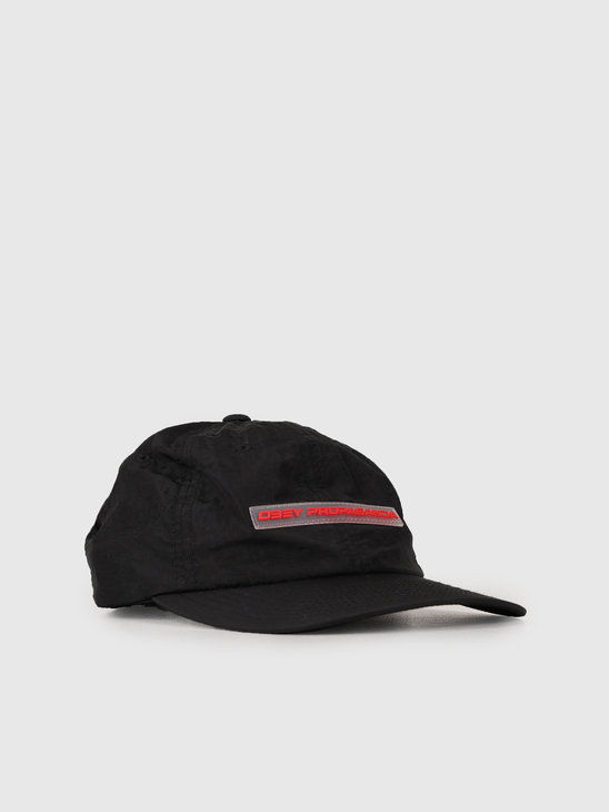 Obey 6 Panel Hat Black 100580173-BLK