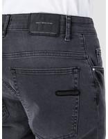 RVLT RVLT Used Wash Denim Shorts Grey 5473 Shorts