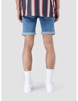 RVLT RVLT Rinsed Wash Shorts Blue 5408