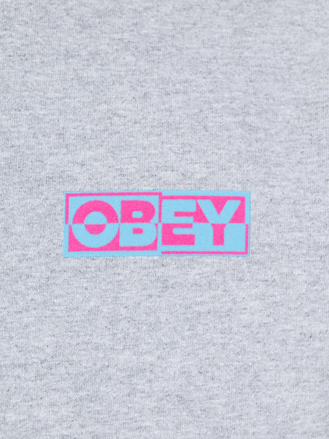 Obey Obey Inside Out Longsleeve Heather Grey 164901966-HEA