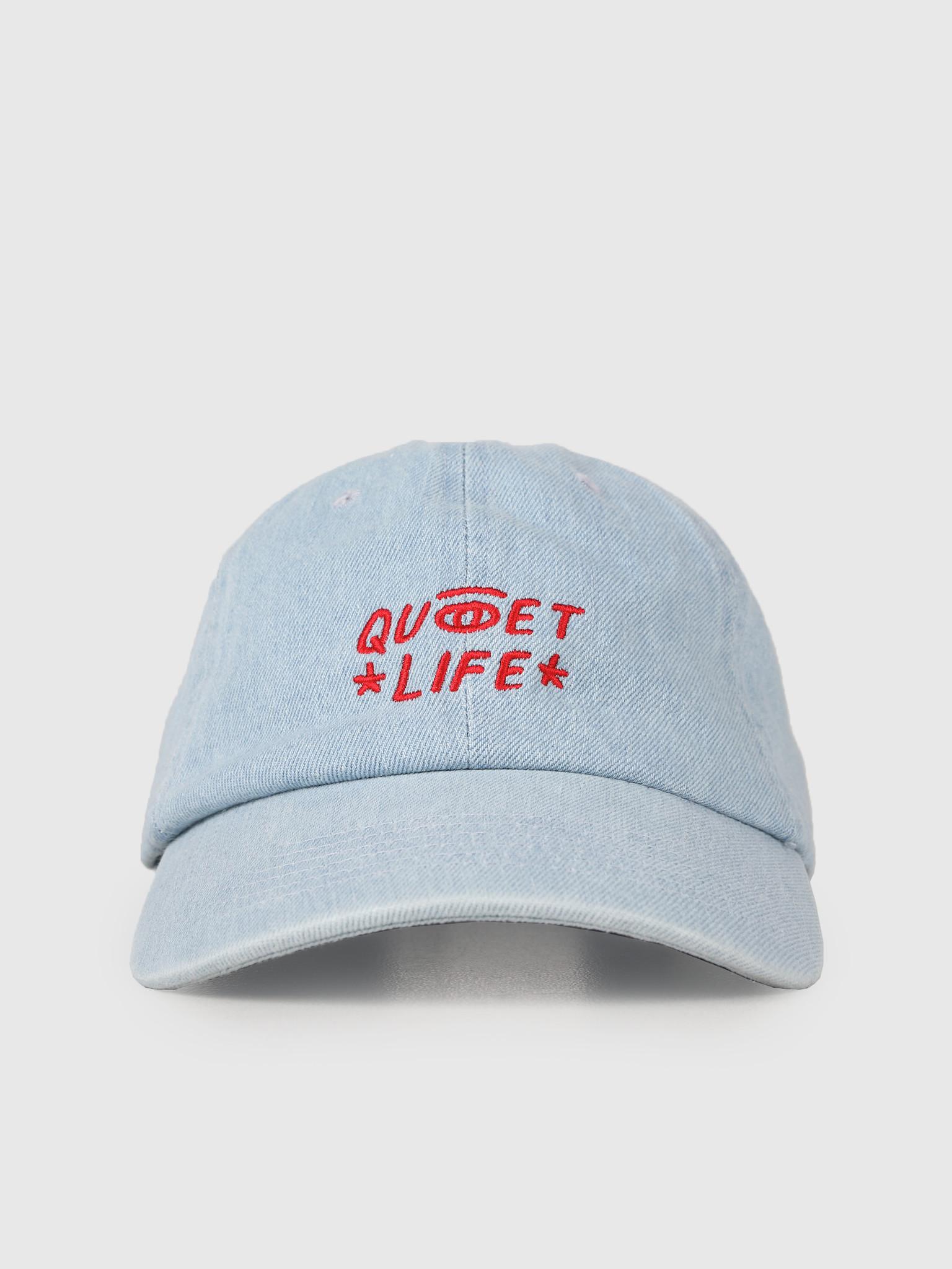 The Quiet Life The Quiet Life Quiet Eye Dad Hat Denim 19SPD1-1237-DEN-OS