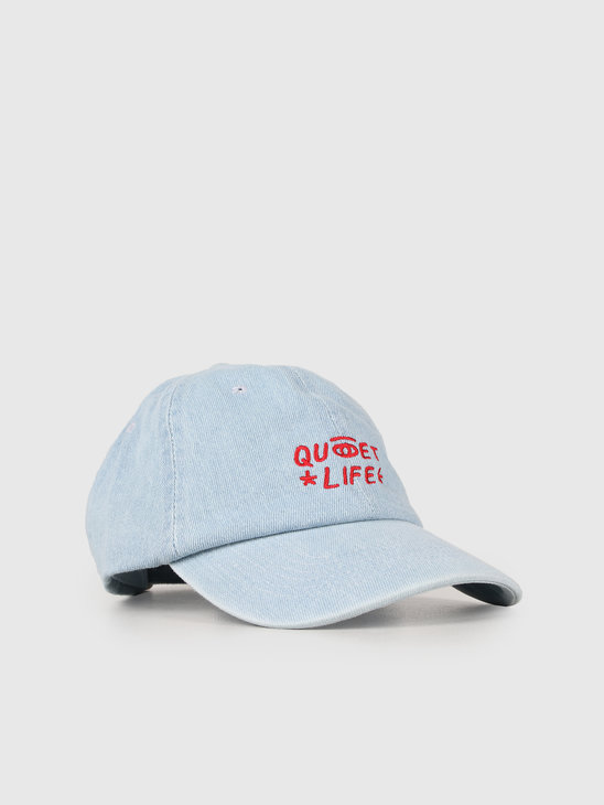 The Quiet Life Quiet Eye Dad Hat Denim 19SPD1-1237-DEN-OS