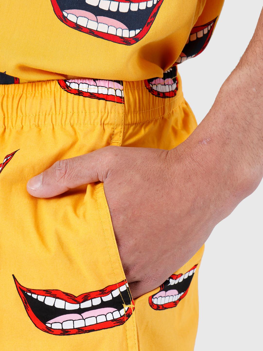 Obey Obey Walkshort Mineral Yellow Multi 172120042-YWM