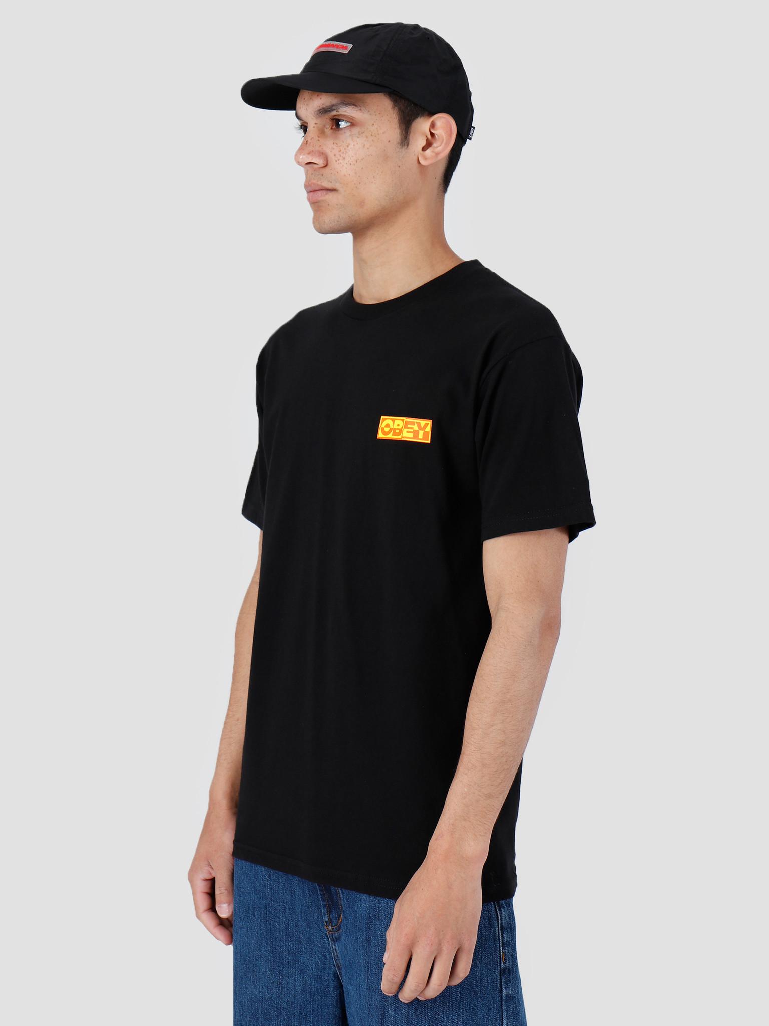 Obey Obey Basic T-Shirt Black 163081966-BLK