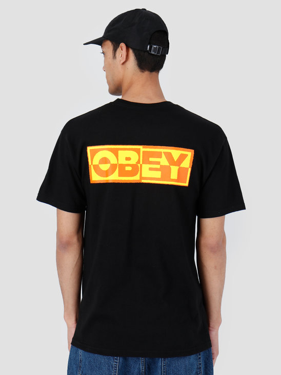 Obey Basic T-Shirt Black 163081966-BLK