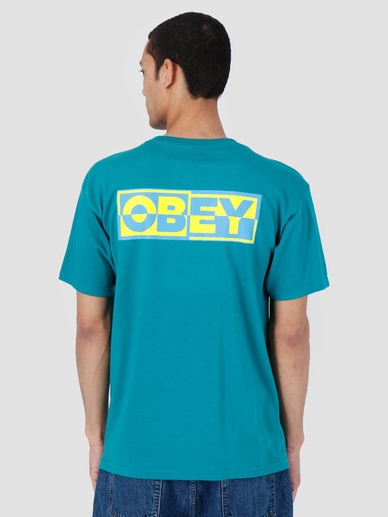 Obey Basic T-Shirt Teal 163081966-TEA