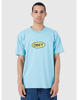 Obey Obey Heavy Weight Classic Box T-Shirt Pool 166911964-POL