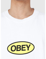 Obey Obey Heavy Weight Classic Box T-Shirt White 166911964-WHT