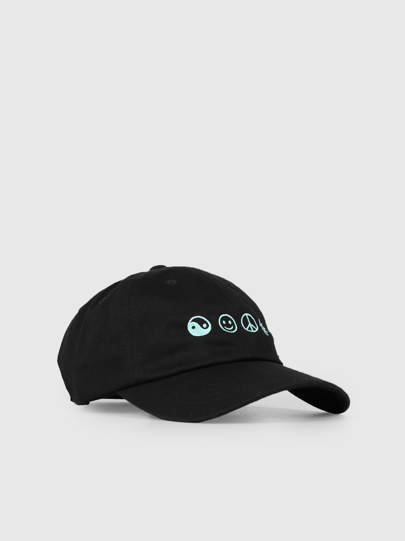 The Quiet Life The Quiet Life World Peace Dad Hat Black 19SPD2-2202-BLK-OS