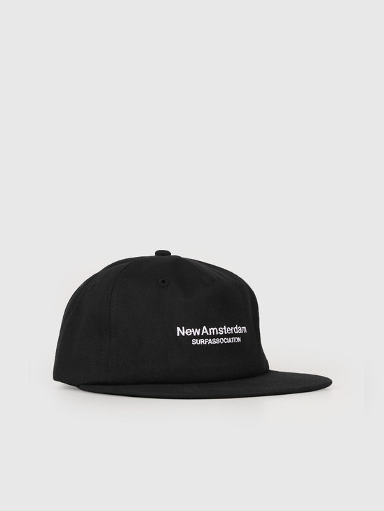 New Amsterdam Surf association Logo Cap Black 2018022