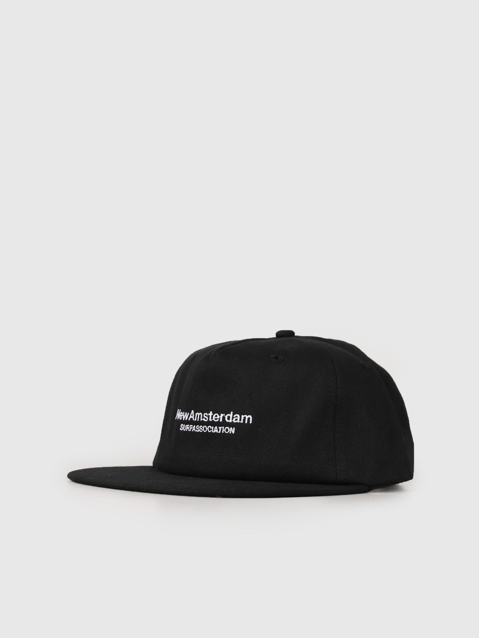 New Amsterdam Surf association New Amsterdam Surf association Logo Cap Black 2018022