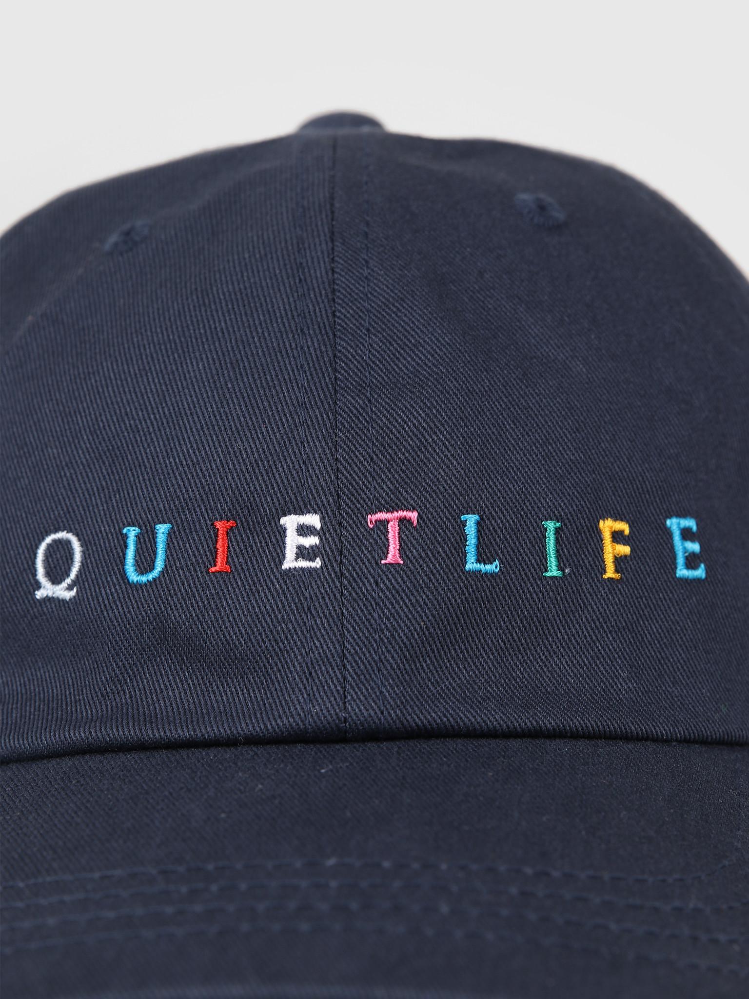 The Quiet Life The Quiet Life Rainbow Dad Hat Navy 19SPD2-2201-NAV-OS