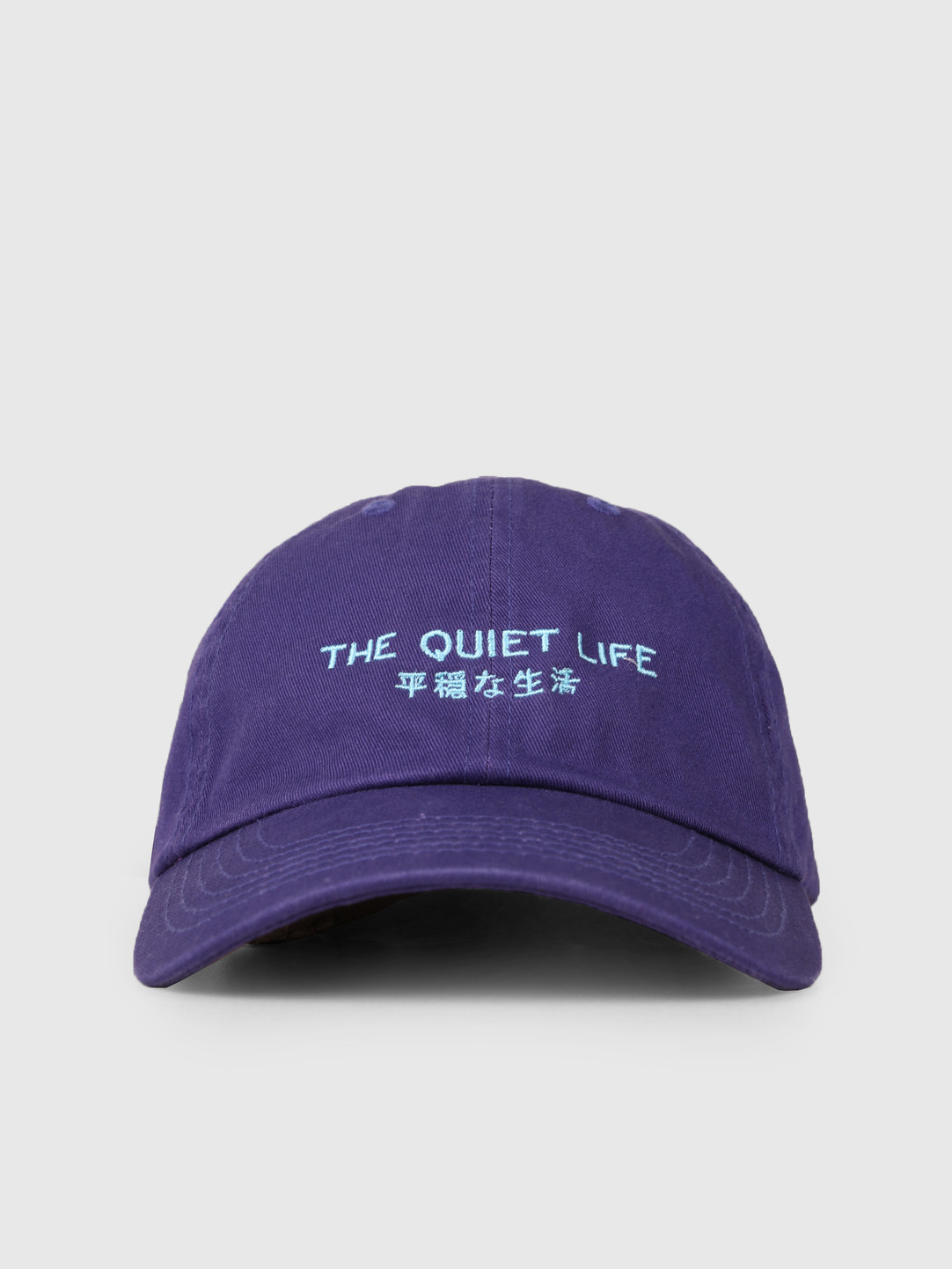 The Quiet Life The Quiet Life Japan Dad Hat Purple 19SPD2-2198-PUR-OS
