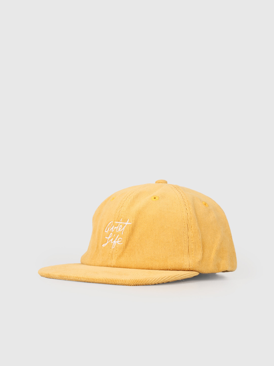 The Quiet Life The Quiet Life Beach Cord Polo Hat Gold 19SPD2-2188-GLD-OS