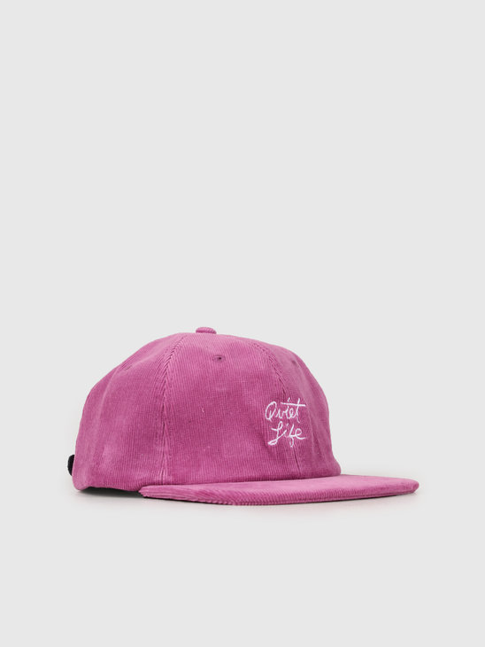 The Quiet Life Beach Cord Polo Hat Magenta 19SPD2-2187-MAG-OS
