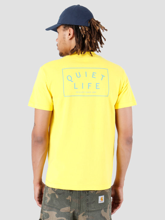 The Quiet Life Standard T-Shirt Yellow 19SPD2-2173-YEL