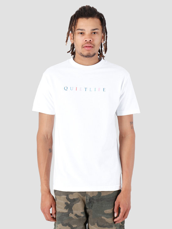 The Quiet Life Rainbow T-Shirt White 19SPD2-2153-WHT